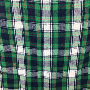 Abercrombie & Fitch Tops - Green Plaid flannel and gingham button down top